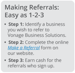 Win-Win Tips for Referral Success | Vonage Business